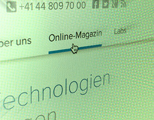 der Corporate Blog im Zentrum